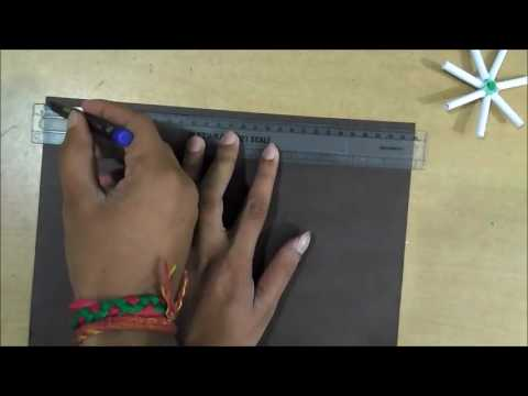 How to Make a Paper Wheel   Easy Learning