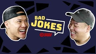 Timothy DeLaGhetto vs. DavidSoComedy | Bad Joke Telling