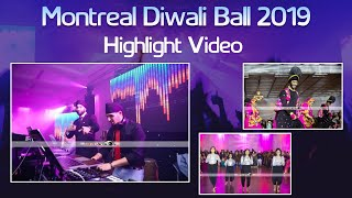 2019 Montreal Diwali Ball Highlight Video | Jannat Productionz