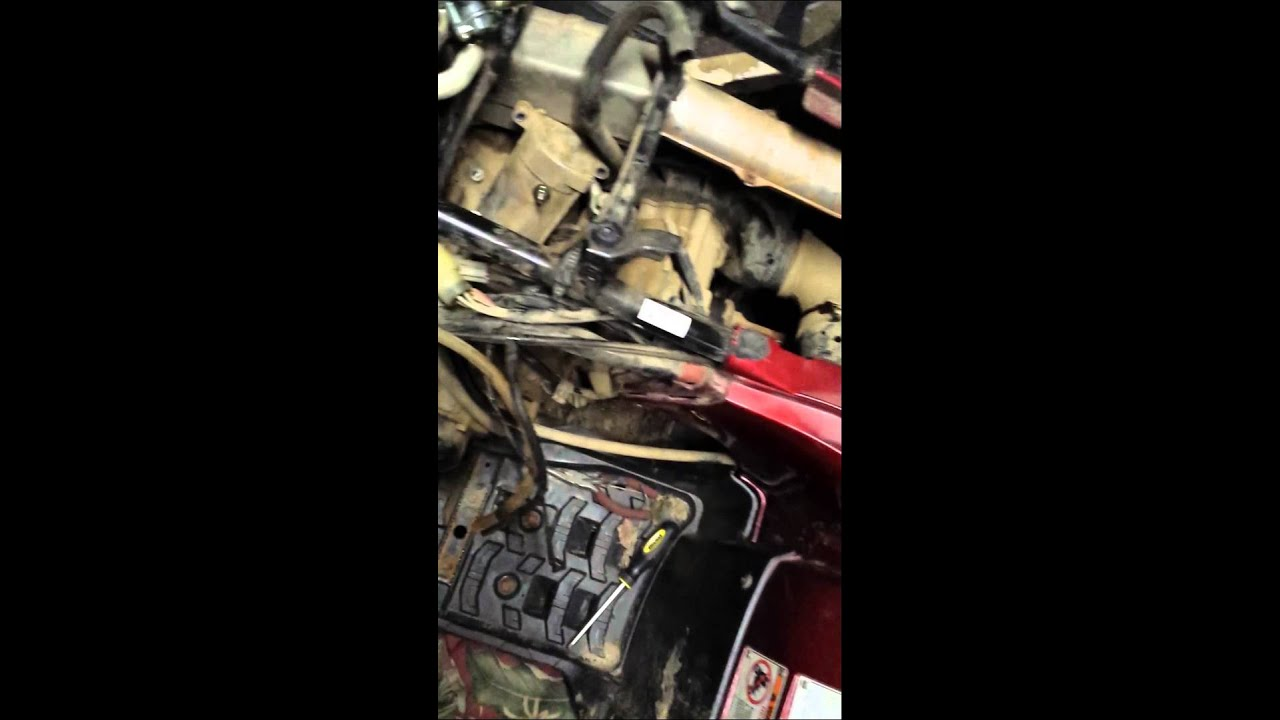 2001 Yamaha Grizzly 600 Wiring Diagram Dayton Timer Relay 660 Starter Removal Youtube
