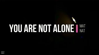 You are not alone - Martin Riedel feat. Dave Davis