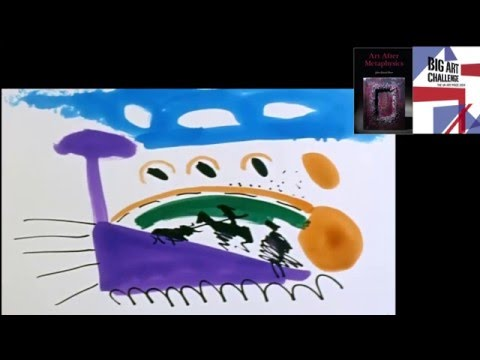 Pablo Picasso at work. Picasso live drawing and painting 03.