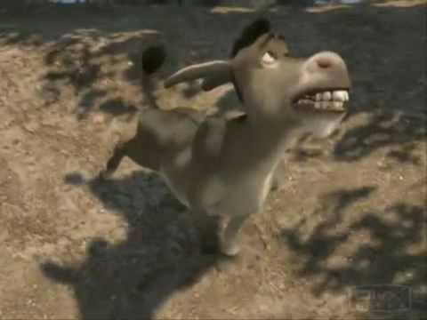 cancion del burro de shrek porque estoy solito