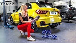 Mein Audi A1 wird tiefergelegt!