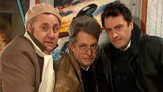 Юрий Стыцковский и Алексей Агопьян в сериале «Комедийный квартет» (2002)