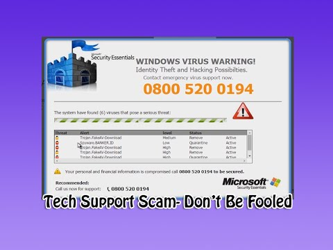 Tech Support Scam - YouTube