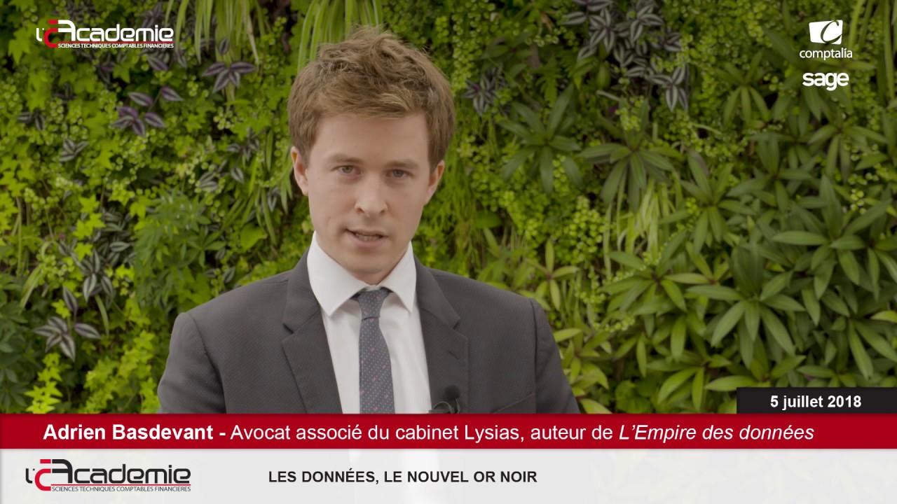 Les Entretiens de l'Académie : Adrien Basdevant