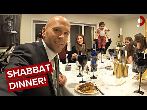Inside Private Hasidic Sabbath Dinner As A Non-Jew 🇺🇸