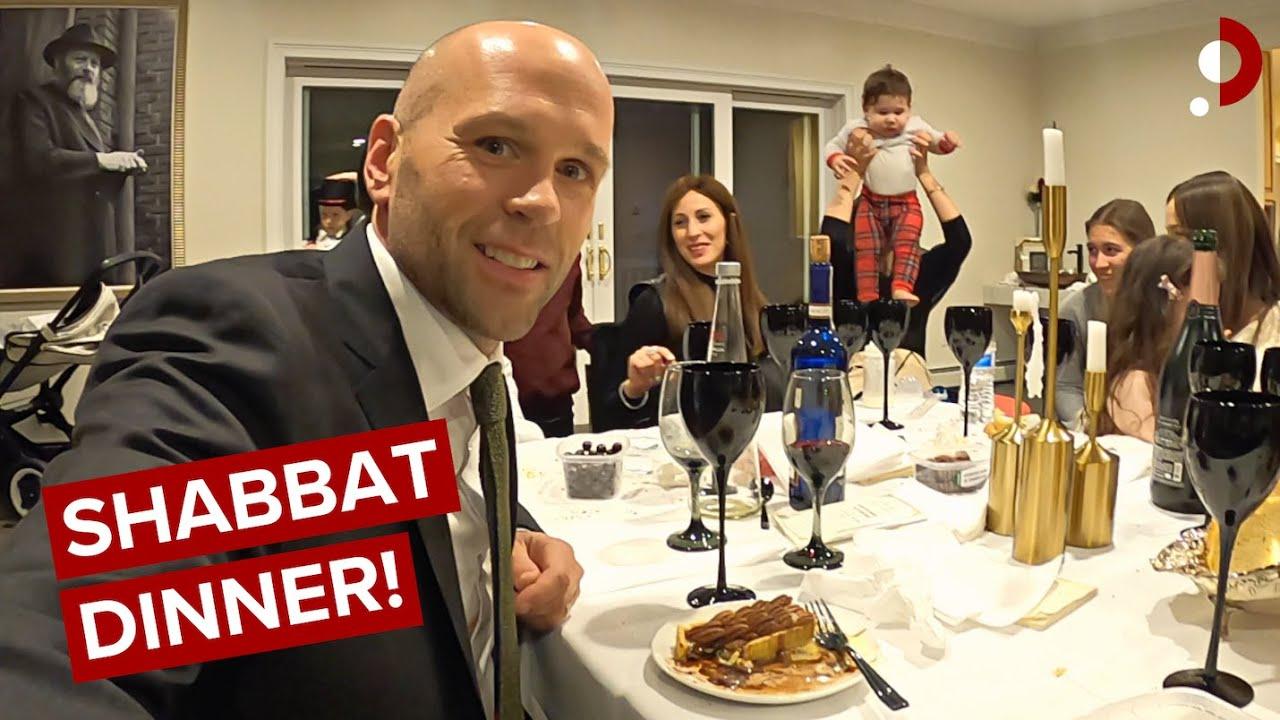 Download Inside Private Hasidic Sabbath Dinner As A Non-Jew 🇺🇸