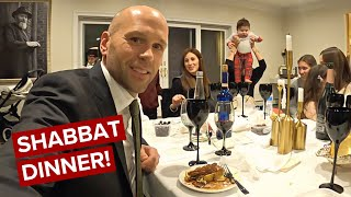 Inside Private Hasidic Sabbath Dinner As A Non-Jew 🇺🇸