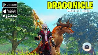 MMORPG Terbaru - DRAGONICLE android Gameplay + Download apk ( Master Topia versi asli)