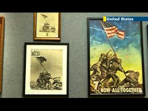Iwo Jima statue for sale: original version of iconic US monument up for auction in New York