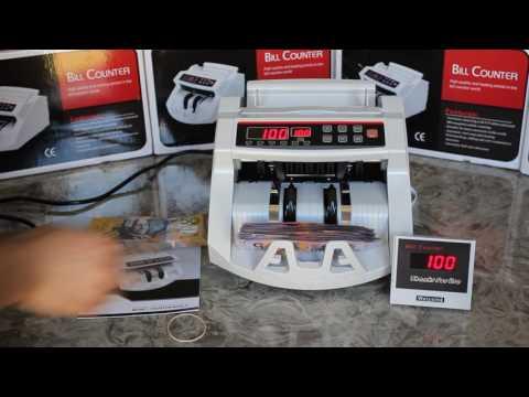 Bill Money Counter Machine - NEW Australian $5 Bill Note And Counterfeit Note Detector