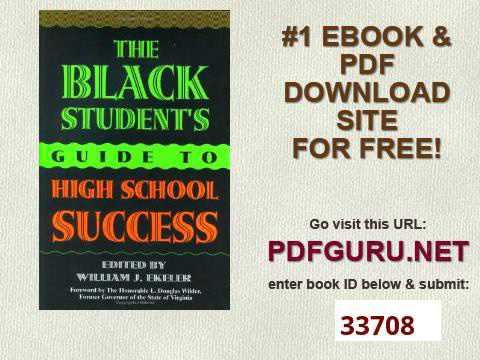 The Black Student's Guide to High School Success Music Reference Collection; 60