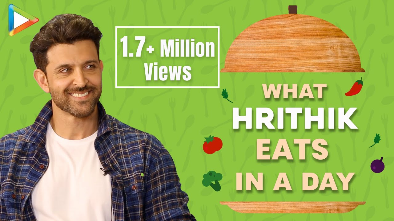 What I Eat In A Day with Hrithik Roshan | Secret of His Amazing Fitness | Bollywood Hungama