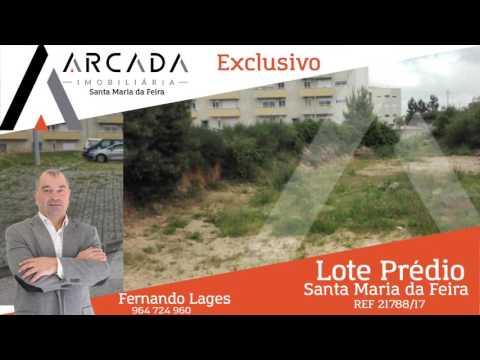 Lote Prédio - Escapães, Santa Maria da Feira