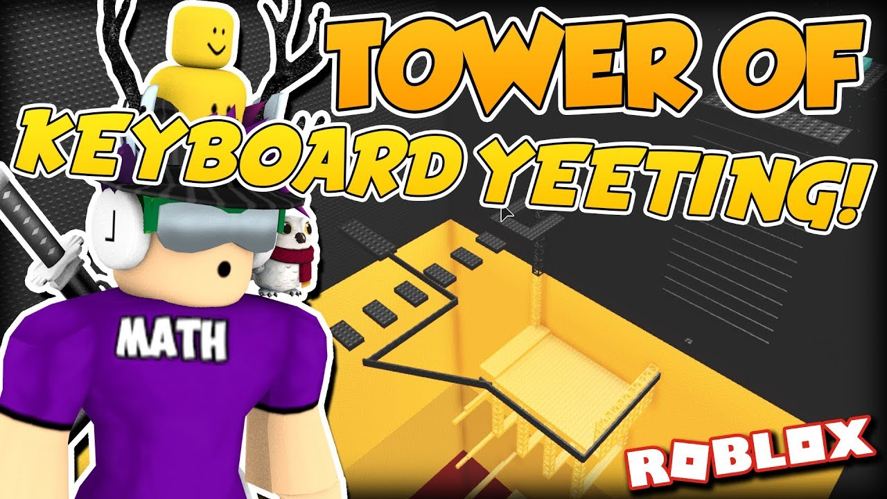 Completing The Tower Of Keyboard Yeeting Jtoh On Roblox 4 Youtube
