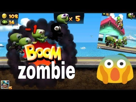 ????Horor game: zombie Tsunami, funny game for kids