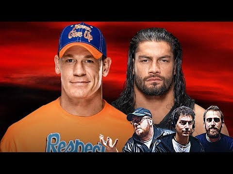 WWE NO MERCY '17 JOHN CENA Vs ROMAN REIGNS (WWE 2K17 ITA)