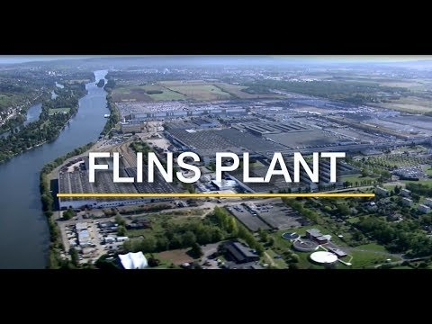 RENAULT FLINS - THE PLANT ON THE MOVE   Groupe Renault