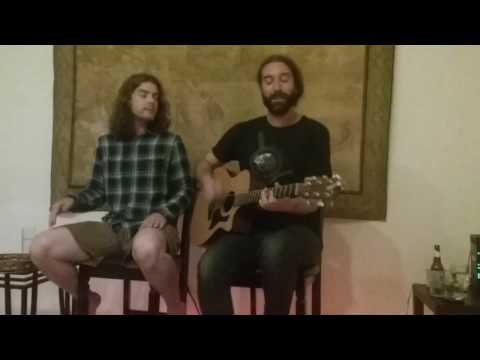 Dors Ward & Chris Baron at Visionary Heights Singer Song Writers Circle - Houston, TX