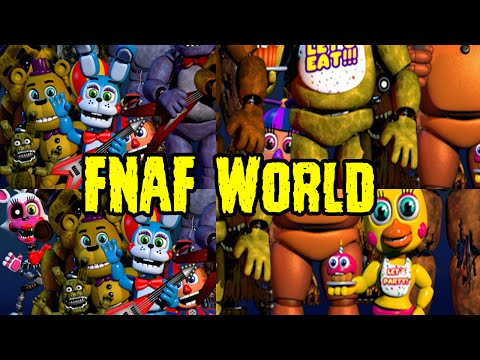 Five nights at freddy s world teaser plushtrap nightmare freddy