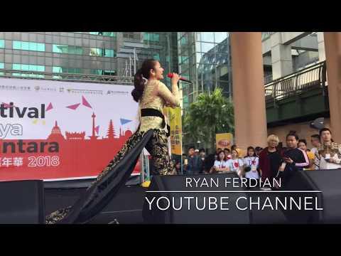 Terong Dicabein Siti Badriyah  live in Taiwan