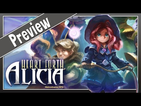HEART FORTH, ALICIA - Un magnifique Metroidvania 16 bits | Preview