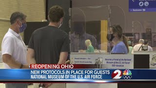 New protocols in place for guests at National Museum of the U.S. Air Force