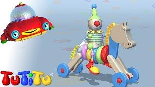 TuTiTu Toys Wooden Horse