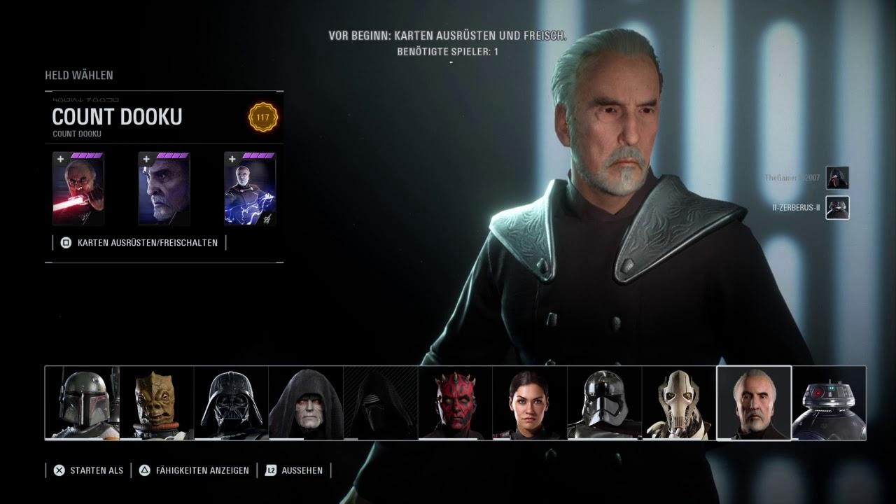 Star Wars Battlefront 2 Helden