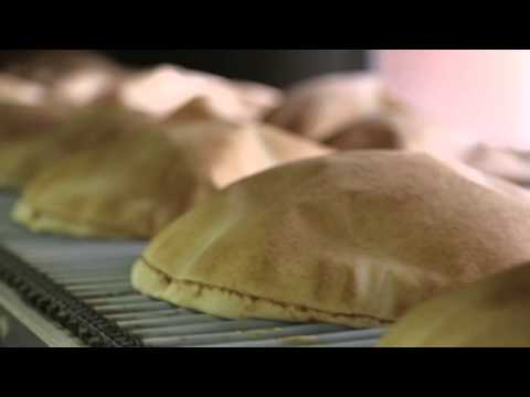 Lebanese World-Famous FlatBread: The Local Traditional Bread. How It's Made?