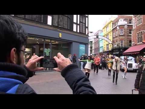 The Carnaby Cab Flashmob