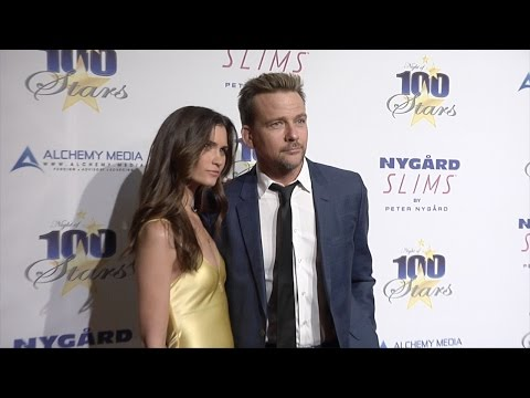 Sean Patrick Flanery & Lauren Michelle Hill 26th Annual Night of 100 Stars Oscar viewing party
