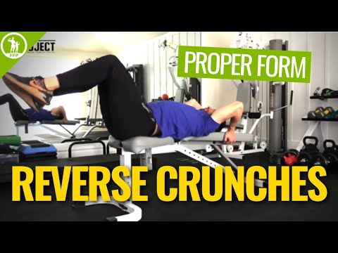 How To Do A Reverse Crunch Correctly Top Exercise For Lower Abs
