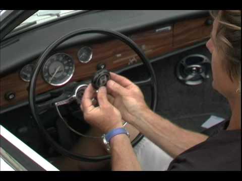VW Steering Column Bearing 1968-70, Beetle, Ghia, and Type 3 - YouTube
