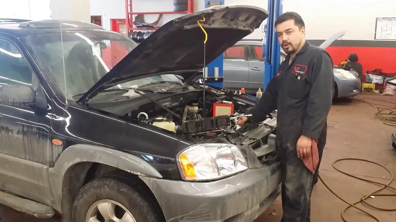 Rough idle on Mazda tribute - YouTube