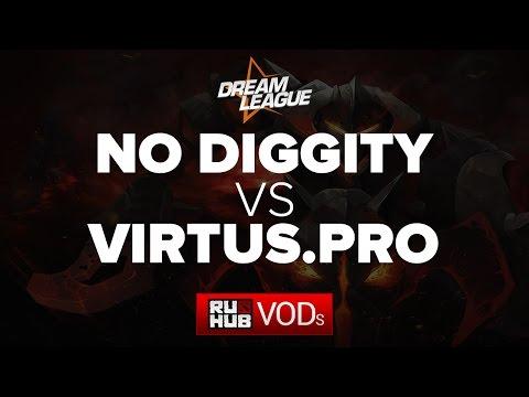 No Diggity vs Virtus Pro, DreamLeague Season 5, Game 1
