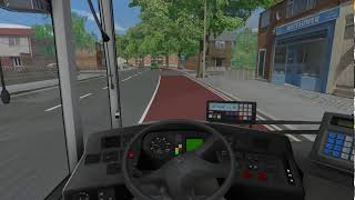 OMSI 2 - Bowdenham V4 - route 405 → Garston Manor.