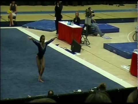 Lichelle Wong FX - Makayla Stambaugh VT 2010 PAC-10 Championships