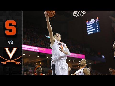 Syracuse vs. Virginia Basketball Highlights (2017-18)