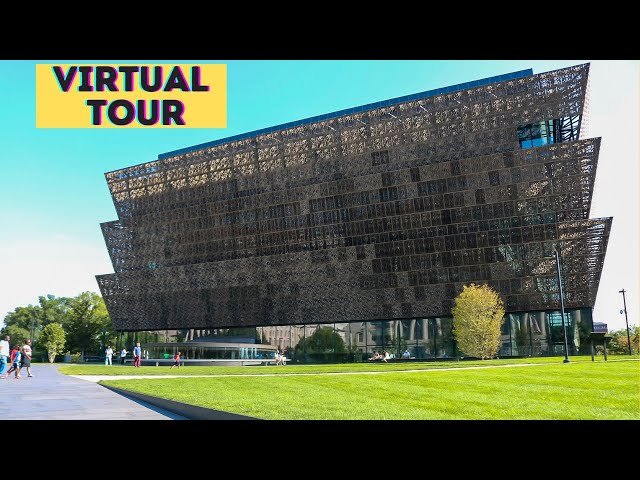 African American Museum Virtual Tour| Inside the African American museum| NMAAHC  Washington DC|