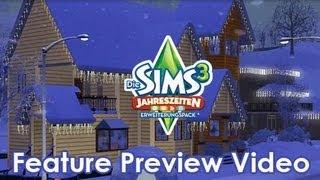Die Sims 3 Jahreszeiten - Feature Preview Video