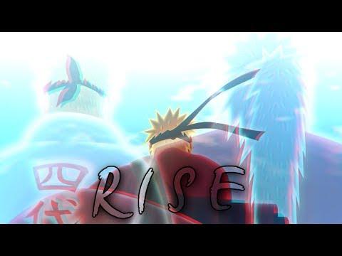 Naruto 「AMV」-  R I S E