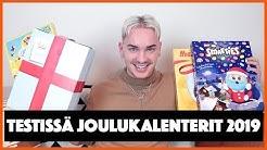 TESTISSÄ JOULUKALENTERIT 2019