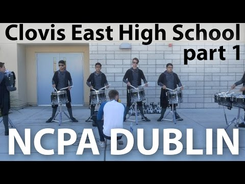 Clovis East High School 2016 in 4K | NCPA Dublin | Warm-up Sequence