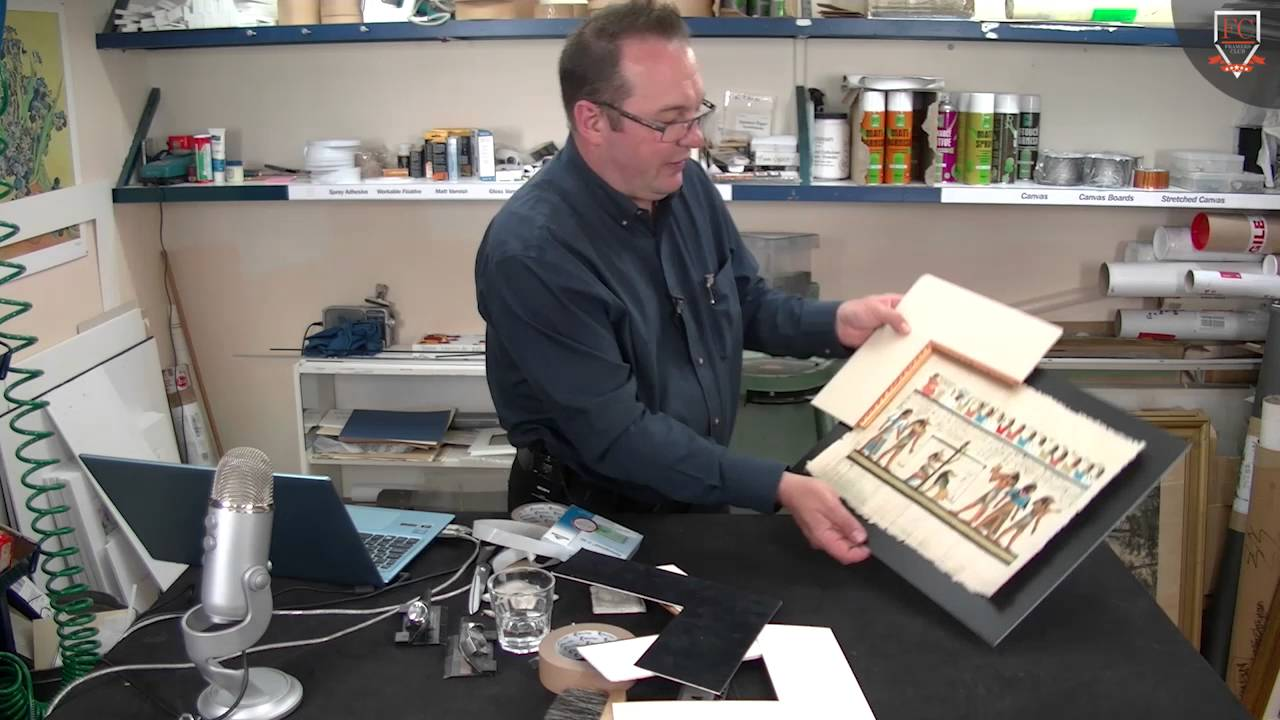 How to Frame Papyrus Trailer - YouTube