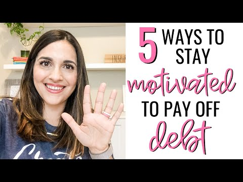 5 Ways To Stay Motivated On Your Debt Free Journey