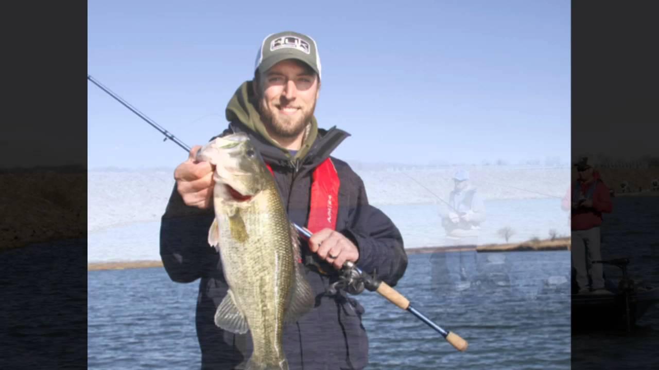 Bass fishing at kansas 39 wolf creek lake youtube for Fishing in kansas