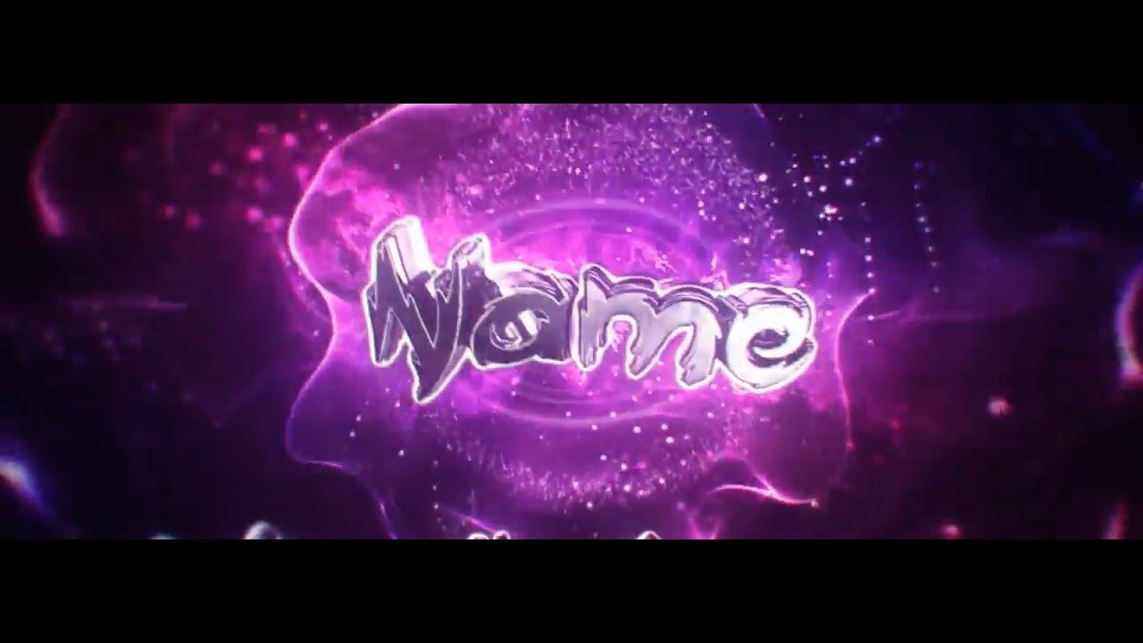 FREE Insane Purple AE C4D Intro Template 725 Tutorial YouTube